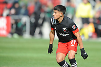 WASHINTON, DC - FEBRUARY 29: Washington, D.C. - February 29, 2020: Yamil Asad #11 of D.C. United during a game between D.C. United and Colorado Rapids. The Colorado Rapids defeated D.C. United 2-1 during their Major League Soccer (MLS)  match at Audi Field during a game between Colorado Rapids and D.C. United at Audi FIeld on February 29, 2020 in Washinton, DC.