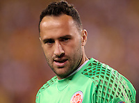 NEW JERSEY - UNITED STATES, 17-06-2016: David Ospina, jugador de Colombia (COL) durante partido por los cuartos de final entre Colombia (COL) y Peru (PER)  por la Copa América Centenario USA 2016 jugado en el estadio MetLife en East Rutherford, Nueva Jersey, USA. /  David Ospina, player of Colombia (COL) during a match for the quarter of finals between Colombia (COL) and Peru (PER) for the Copa América Centenario USA 2016 played at MetLife stadium in East Rutherford, New Jersey, USA. Photo: VizzorImage/ Luis Alvarez /Cont.