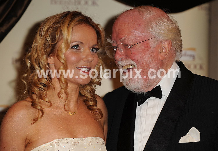 **ALL ROUND PICTURES FROM SOLARPIX.COM**.**WORLDWIDE SYNDICATION RIGHTS**.Award winners and presenters inside the Galaxy British Book Awards 2008. Held at the Grosvenor, Park Lane, Mayfair, London. April 09 2008...This pic: Geri Halliwell and Sir Richard Attenborough..JOB REF: 6123 SSD     DATE: 09_04_2008.**MUST CREDIT SOLARPIX.COM OR DOUBLE FEE WILL BE CHARGED* *UNDER NO CIRCUMSTANCES IS THIS IMAGE TO BE REPRODUCED FOR ANY ONLINE EDITION WITHOUT PRIOR PERMISSION*