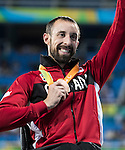 RIO DE JANEIRO - 15/9/2016:  Brent Lakatos in the men's 800m T53 final at the Olympic Stadium during the Rio 2016 Paralympic Games. (Photo by Dave Holland/Canadian Paralympic Committee).