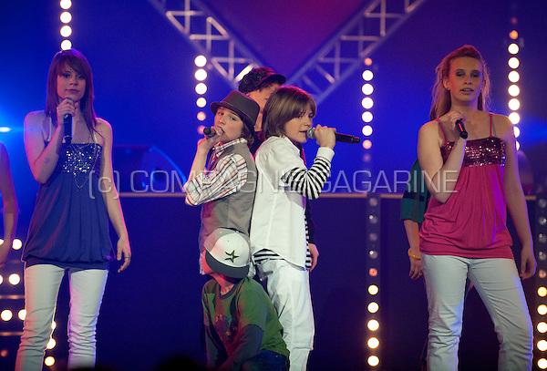 Premiere of the Ketnet Pop 2009 show in the Zuiderkroon, Antwerp (Belgium, 08/04/2009)