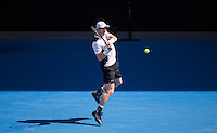 ANDY MURRAY (GBR)<br /> <br /> TENNIS - GRAND SLAM ITF / ATP  / WTA - Australian Open -  Melbourne Park - Melbourne - Victoria - Australia  - 21 January 2016<br /> <br /> &copy; AMN IMAGES