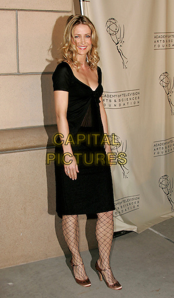 "KELLY ROWAN.attends ""The O.C. Revealed"" presented by The Academy of Television Arts & Sciences held at Warner Brother Studios at The Steven Ross Theatre in Burbank, California, USA, March 21st 2005.full length black dress fish net stockings fishnet tights.www.capitalpictures.com.sales@capitalpictures.com.©Debbie VanStory/Capital Pictures"