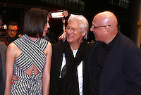 www.acepixs.com<br /> <br /> February 10 2017, Berlin<br /> <br /> (L-R) Actress Rebecca Hall, Director Oren Moverman and actor Richard Gere arriving at the premiere of 'The Dinner' during the 67th Berlinale International Film Festival Berlin at Berlinale Palace on February 10, 2017 in Berlin, Germany.<br /> <br /> By Line: Famous/ACE Pictures<br /> <br /> <br /> ACE Pictures Inc<br /> Tel: 6467670430<br /> Email: info@acepixs.com<br /> www.acepixs.com