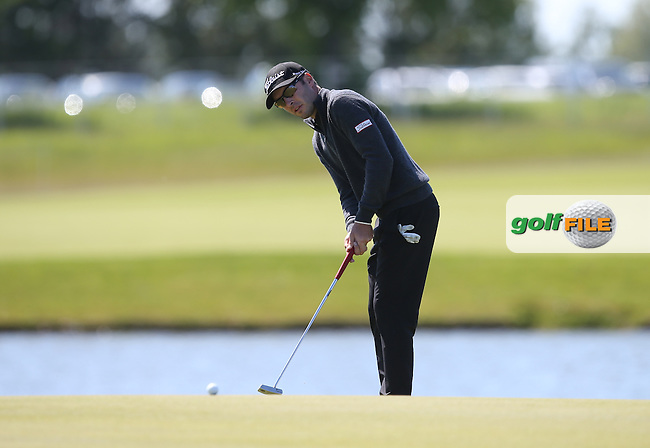 Daniel Woltman (USA) a 69 and T8 during Round Two of the 2015 Nordea Masters at the PGA Sweden National, Bara, Malmo, Sweden. 05/06/2015. Picture David Lloyd | www.golffile.ie