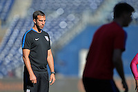 San Diego, CA - Saturday January 28, 2017: Kenny Arena during a USMNT practice at Qualcomm Stadium.