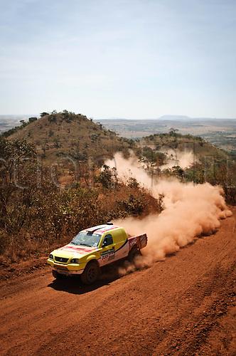 13 08 2010  driver Antonio  and  Eric  Durante 2010 Rally dos Sertes Brazil
