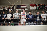 NWA Democrat-Gazette/CHARLIE KAIJO Fans cheer during a basketball game, Friday, January 11, 2019 at Wolverine Arena at Bentonville West in Centerton.