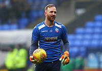 Bolton Wanderers' Ben Alnwick warming up before the match against Fulham <br /> <br /> Photographer Leila Coker/CameraSport<br /> <br /> The EFL Sky Bet Championship - Bolton Wanderers v Fulham - Saturday 10th February 2018 - Macron Stadium - Bolton<br /> <br /> World Copyright &copy; 2018 CameraSport. All rights reserved. 43 Linden Ave. Countesthorpe. Leicester. England. LE8 5PG - Tel: +44 (0) 116 277 4147 - admin@camerasport.com - www.camerasport.comBolton Wanderers'  <br /> <br /> Photographer Leila Coker/CameraSport<br /> <br /> The EFL Sky Bet Championship - Bolton Wanderers v Fulham - Saturday 10th February 2018 - Macron Stadium - Bolton<br /> <br /> World Copyright &copy; 2018 CameraSport. All rights reserved. 43 Linden Ave. Countesthorpe. Leicester. England. LE8 5PG - Tel: +44 (0) 116 277 4147 - admin@camerasport.com - www.camerasport.com