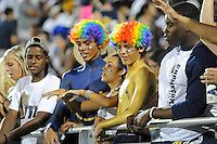 1 October 2011:  FIU cheer on the team in the first half as the Duke University Blue Devils defeated the FIU Golden Panthers, 31-27, at FIU Stadium in Miami, Florida.