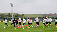 24th May 2014, Republic of Ireland Squad Training ahead of the International Friendly match against Turkey, Gannon Park, Malahide, Co Dublin. Picture credit: Tommy Grealy/actionshots.ie.