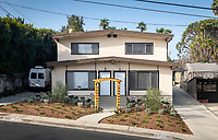 Veteran's housing, 4520 Toland Way, Eagle Rock, Los Angeles, Nov. 11, 2019.<br /> (Photo by Marc Campos, Occidental College Photographer)