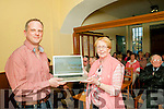 Tarbert Digital Platform : Pictured at the launch of the Tarbert digital marketing platform at the Bridewell centre on Friday nigh last were Niall Fitzgerald, web designer & Joan Murphy, chairperson.