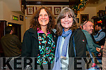 Barbie Begley (Muireach) and Siobhan McDonnell (Dingle) enjoying Other Voices in Dingle over the weekend.