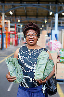 26/8/2011. Dublin Fruit and Vegetable Market.  Mrs Imansuen from the Godsfavour shop 121 Parnell St. is pictured at the Dublin Fruit and Vegetable Market. Picture James Horan/Collins Photos