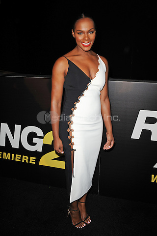 MIAMI BEACH, FL - JANUARY 06: Tika Sumpler attends the world premiere of 'Ride Along 2' at Regal South Beach Cinema on January 6, 2016 in Miami Beach, Florida. Credit: mpi04/MediaPunch