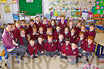 Starting their school journey on September 1st were the pupils from Athea NS, pictured here last Friday. F l-r: James Hunt, Adam Somers, Callum O'Mahony, Ryan Woulfe, Conor McDonagh, Fionn Histon. M l-r: Isabelle Buswell Barrett, Brooke O'Connor, Rachel O'Connor, Micheala McCarthy, Laura McEldowney, Grace McMahon, Leighann Mulvihill, Rebecca Collins, Bri?d Hunt. B l-r: Toma?s Ahern, Joshua Keane, Ciaran Hunt, Timmy O'Keeffe, John Carmody, Adelle O'Sullivan, Niamh Ambrose, Ailisa Ahern, Katie Byrne, Clodagh Ahern, Kaliyah Enright and Nicole Enright.