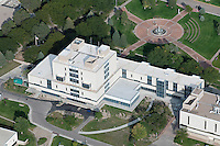 aerial of Library at University of Colorado at Pueblo
