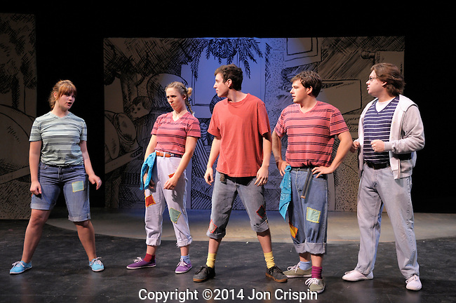 "New Century Theatre Kids production of ""Alexander and the Terrible Horrible,No Good,Very Bad Day"""