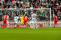 GRONINGEN - Voetbal, FC Groningen - FC Twente, Eredivisie, seizoen 2019-2020, 10-08-2019, Aitor schiet strafschop tegen de lat boven FC Groningen doelman Segio Padt
