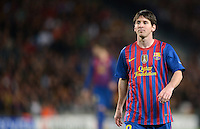 FUSSBALL   CHAMPIONS LEAGUE SAISON 2011/2012   HALBFINALE   RUECKSPIEL        FC Barcelona - FC Chelsea       24.04.2012 Lionel Messi (Barca)