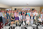 Retirement : Dr. Brendan Barrett, Tarbert & Glin celebrating his retirement after 40 years as a GP with family & friends at the Listowel Arms Hotel on Saturday night last.