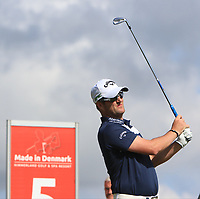 Marc Warren (SCO)  on the 5th tee during Round 4 of Made in Denmark at Himmerland Golf &amp; Spa Resort, Farso, Denmark. 27/08/2017<br /> Picture: Golffile | Thos Caffrey<br /> <br /> All photo usage must carry mandatory copyright credit     (&copy; Golffile | Thos Caffrey)