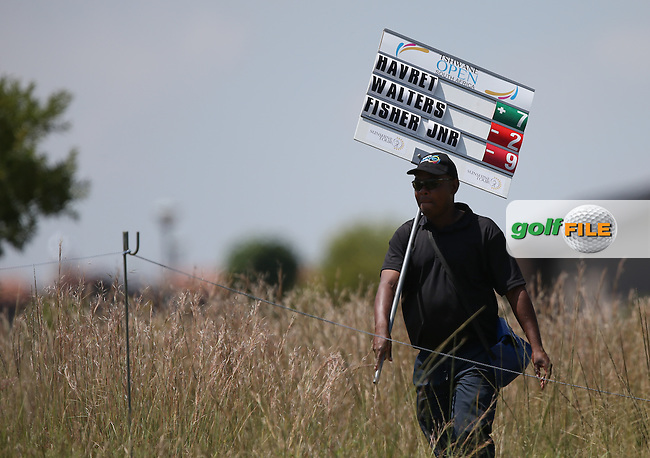 No joy in the South African heat for Gregory Havret (FRA) as he misses the weekend after Round Two of The Tshwane Open 2014 at the Els (Copperleaf) Golf Club, City of Tshwane, Pretoria, South Africa. Picture:  David Lloyd / www.golffile.ie
