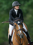 Canada's jockey Tiffany Foster with the horse Southwind VDL during 102 International Show Jumping Horse Riding, Gran Prix of Madrid-Volvo Throphy.May, 19, 2012. (ALTERPHOTOS/Acero)
