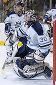 Travis Wight, Ben Bishop - The Boston College Eagles defeated the University of Maine Black Bears 4-1 in the Hockey East Semi-Final at the TD Banknorth Garden on Friday, March 17, 2006.