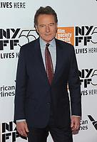 NEW YORK, NY - SEPTEMBER 28: Bryan Cranston attends 55th New York Film Festival opening night premiere of 'Last Flag Flying' at Alice Tully Hall, Lincoln Center on September 28, 2017 in New York City. Photo Credit: John Palmer/MediaPunch