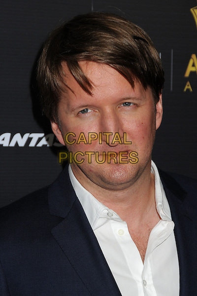 Tom Hooper.Australian Academy of Cinema and Television Arts 2nd Annual AACTA International Awards held at Soho House, West Hollywood, California, USA, 26th January 2013th..portrait headshot black white shirt  .CAP/ADM/BP.©Byron Purvis/AdMedia/Capital Pictures.