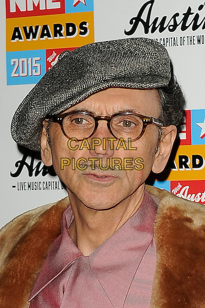 LONDON, ENGLAND - FEBRUARY 18: Kevin Rowland attending the NME Awards at Brixton Academy on February 18 2015 in London, England.<br /> CAP/MAR<br /> &copy; Martin Harris/Capital Pictures