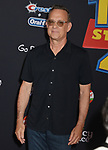 "Tom Hanks 047 arrives at the premiere of Disney and Pixar's ""Toy Story 4"" on June 11, 2019 in Los Angeles, California."