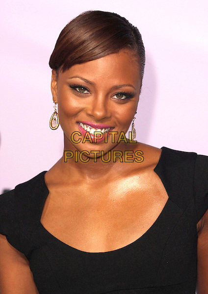 EVA PIGFORD .18th Annual Environmental Media Awards held at the Ebell Theatre,  Los Angeles, California, USA, .13 November 2008..portrait headshot black gold earrings pink lipstick .CAP/ADM/CH.©Charles Harris/AdMedia