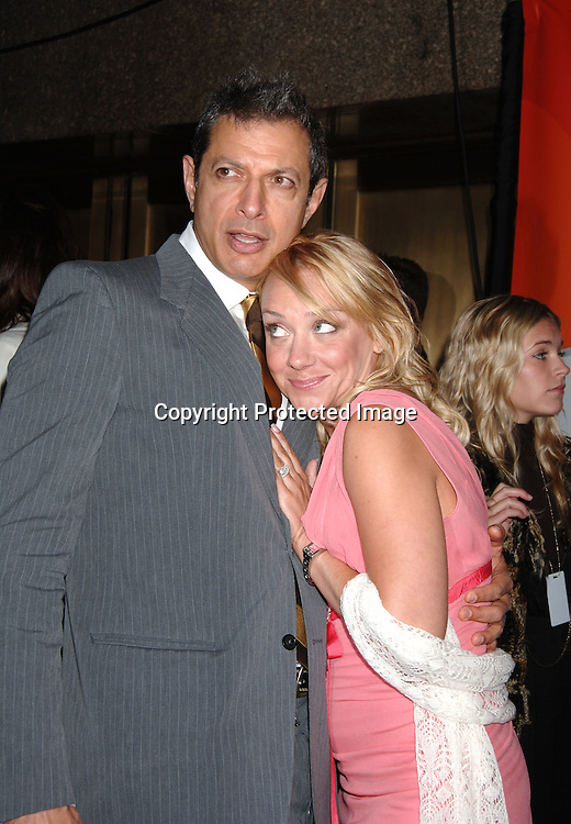 "Jeff Goldblum and Nicole Sullivan of ""Raines""..arriving for The NBC Upfront announcement of their Fall 2006-2007 Schedule on May 15, 2006 at Radio City Music ..Hall...Robin Platzer, Twin Images"