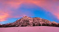 Sunrise at Barronette Peak.