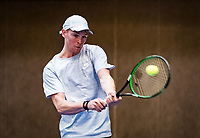 Alphen aan den Rijn, The Netherlands, 25 Januari 2019, ABNAMRO World Tennis Tournament, Supermatch, Zachary Eisinga (NED)<br /> Photo: www.tennisimages.com/Henk Koster