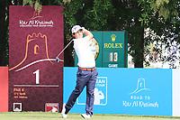 Darius Van Driel (NED) in action during round 3, Ras Al Khaimah Challenge Tour Grand Final played at Al Hamra Golf Club, Ras Al Khaimah, UAE. 02/11/2018<br /> Picture: Golffile | Phil Inglis<br /> <br /> All photo usage must carry mandatory copyright credit (&copy; Golffile | Phil Inglis)