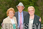 Danny HAnnon  the unvveiling of the John B. Keane monument in the garden of Europe Listowel on Sunday.