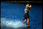 7-01 Twin Lakes, Florida. Lots of people take their canines for walks. Jonathan Weiss, who runs a wakeboarding camp on Miami's Twin Lakes, prefers to take Summer, his 4-year-old Jack Russell terrier, for a spin on his wakeskate. Summer first jumped on with Weiss two years ago, and she's been riding ever since. What was that you were saying about how your dog can catch a Frisbee?
