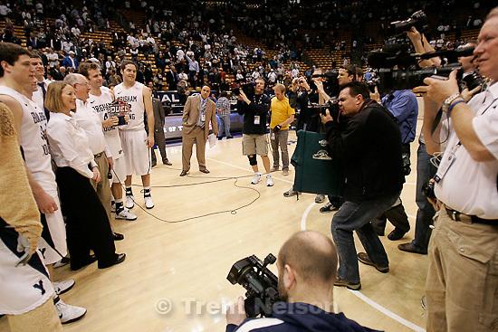 Trent Nelson  |  The Salt Lake Tribune. in the second half at BYU vs. Utah, college basketball in Provo, Utah, Saturday, February 12, 2011. BYU won 72-59. scott winterton