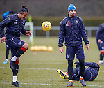 16.3.2018: Rangers training:<br /> Bruno Alves and Fabio Cardoso