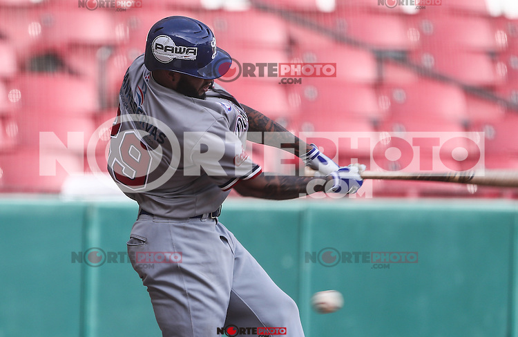 Ronny Rodriguez  de Dominicana, durante el partido de beisbol de la Serie del Caribe entre Republica Dominicana vs Puerto Rico en el Nuevo Estadio de los Tomateros en Culiacan, Mexico, Sabado 4 Feb 2017. Foto: Luis Gutierrez/NortePhoto.com<br /> <br /> Actions, during the Caribbean Series baseball match between Dominican Republic vs Puerto Rico at the New Tomateros Stadium in Culiacan, Mexico, Saturday 4 Feb 2017. Photo: Luis Gutierrez / NortePhoto.com