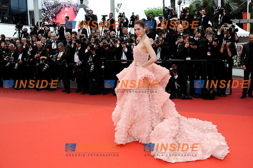Araya Hargate<br /> Festival di Cannes 2016 <br /> Foto Panoramic / Insidefoto