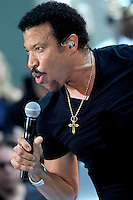 "Lionel Richie performs on ""The Today Show"" - New York"