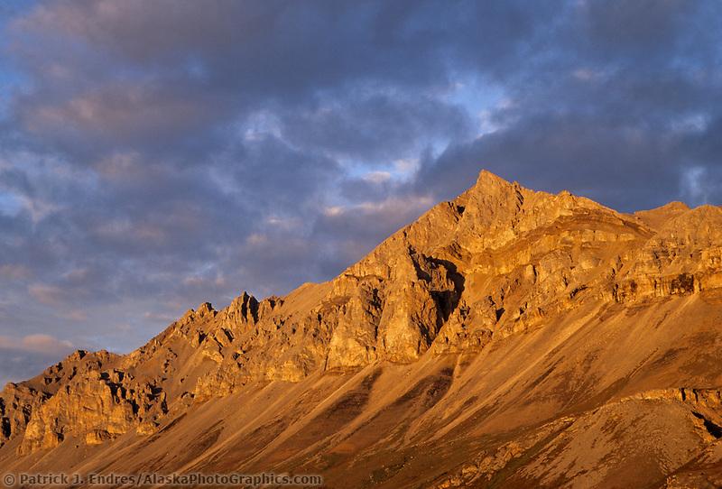 Brooks range mountains, Atigun canyon, arctic, Alaska.