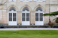 doors chateau belgrave haut medoc bordeaux france