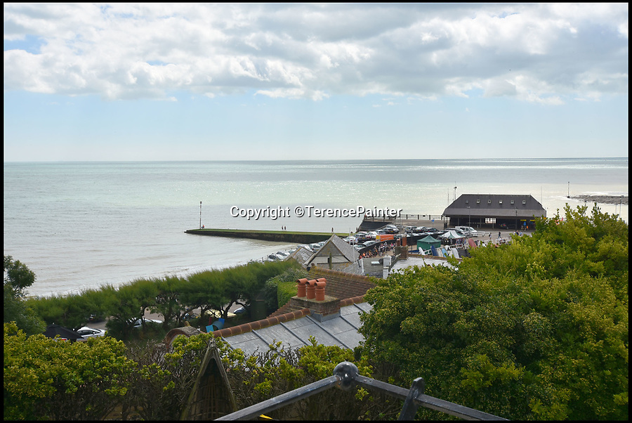 BNPS.co.uk (01202)558833Pic: TerencePainter/BNPS<br /> <br /> Views over the seaside resort of Broadstairs in Kent.<br /> <br /> Hard Times for Bleak House....Dickens seaside villa has its asking price slashed by a whopping £2.7million.<br /> <br /> Please Sir, can i have less!...A clifftop mansion that was the home of author Charles Dickens is now a bargain even Ebeneezer Scrooge would be happy with - as the property is on the market for less than half the price tag it had last year.<br /> <br /> Bleak House, which sits high on the cliffs at Broadstairs overlooking the Kent coast, is where Dickens spent summers from the 1830s through to the 1850s.<br /> <br /> He wrote David Copperfield (1851) here and planned Bleak House, with this property later renamed after that 1853 novel to represent its connection to the author. <br /> <br /> The Grade II listed house was up for grabs for £5.2m in March last year but the owners are keen for a quick sale and the price has now dropped to just £2.5m.
