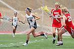 San Diego, CA 05/21/11 - Lauren Maack (Coronado #4), Skylar Brown (Cathedral Catholic #9) and Megan Depew-Brady (Cathedral Catholic #24) in action during the 2011 CIF San Diego Division 2 Girls lacrosse finals between Cathedral Catholic and Coronado.